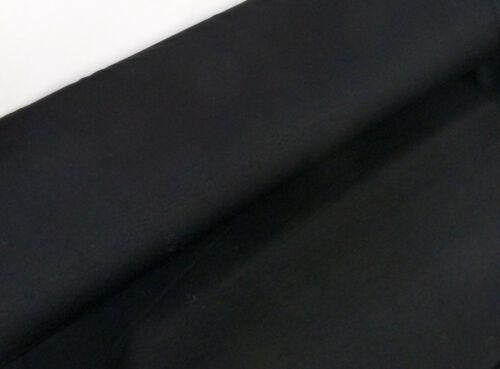 Été Sweat éco Tex French Terry Jersey Angeraut Noir Uni Tissu 24328