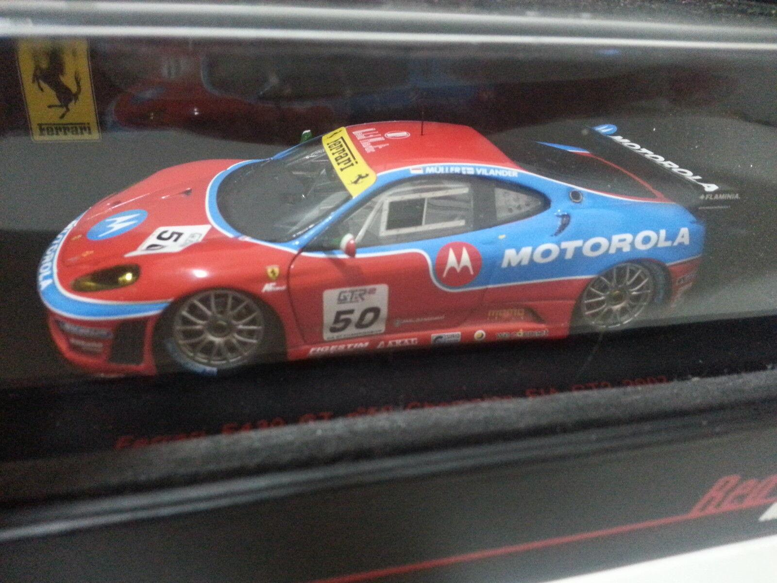 1 43 rosso Line FERRARI F430 GT AF AF AF CORSE  50 CHAMPION FIA 2007 - RL-143 a5c900