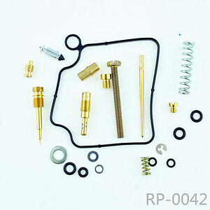 Carb Rebuild Kit For Honda Rancher 350 TRX350 2x4 /& 4x4 2000 2001 2002 2003   E1