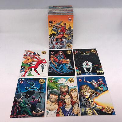 ALL COMIC ART Complete Card Set VALIANT ERA SERIES 1 120 Upper Deck//1993