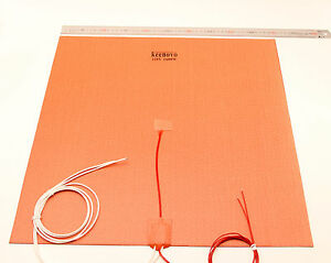 Grado-Industrial-Comercial-amp-grandes-Impresora-3D-50CM-Calentador-de-silicona-Placa-de