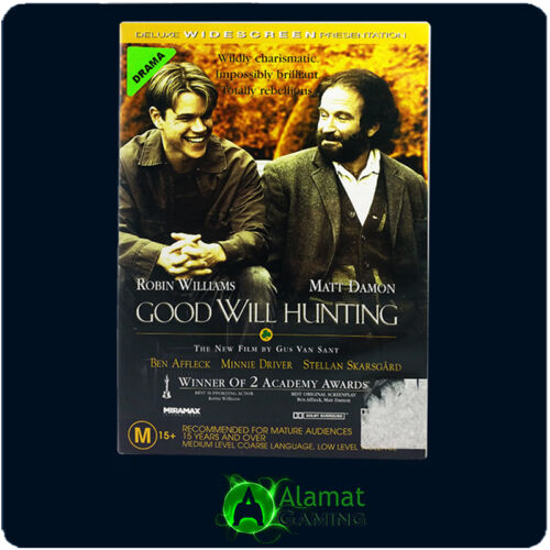 1 of 1 - Good Will Hunting (DVD) VGC - Fast Free Post - Matt Damon - Robin Williams