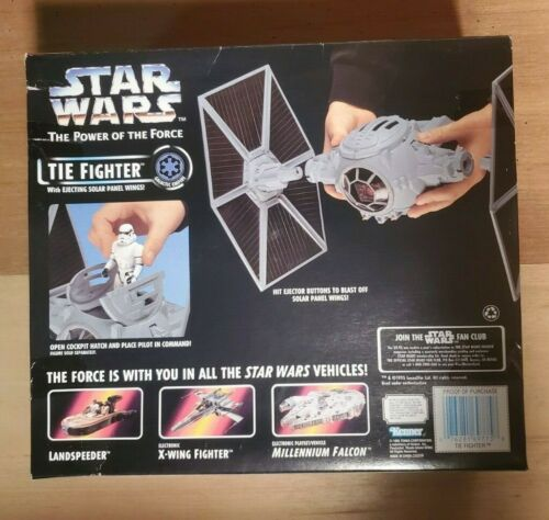 Landspeeder,A-Wing... Kenner 1995 Star Wars Power of The Force Vehicles Variety