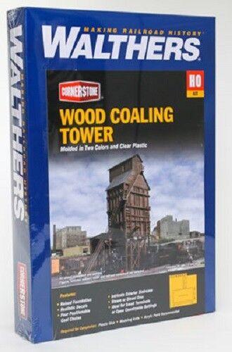 Walthers Madera Carbón Torre Kit Ho En Caja Como Nuevo