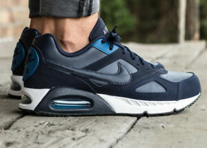 Details zu Nike Air Max IVO LTR (Leather) Men's Sport Trainers Obsidian Brigade Blue