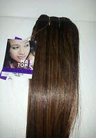 Human Hair Blended Premium Yaki/weaving /hair Topic/12/14straight/soft Natural