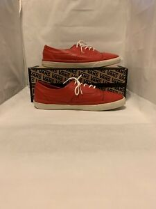 a59b5200ba Image is loading Vans-CA-California-Era-Brogue-CA-Red-Leather-