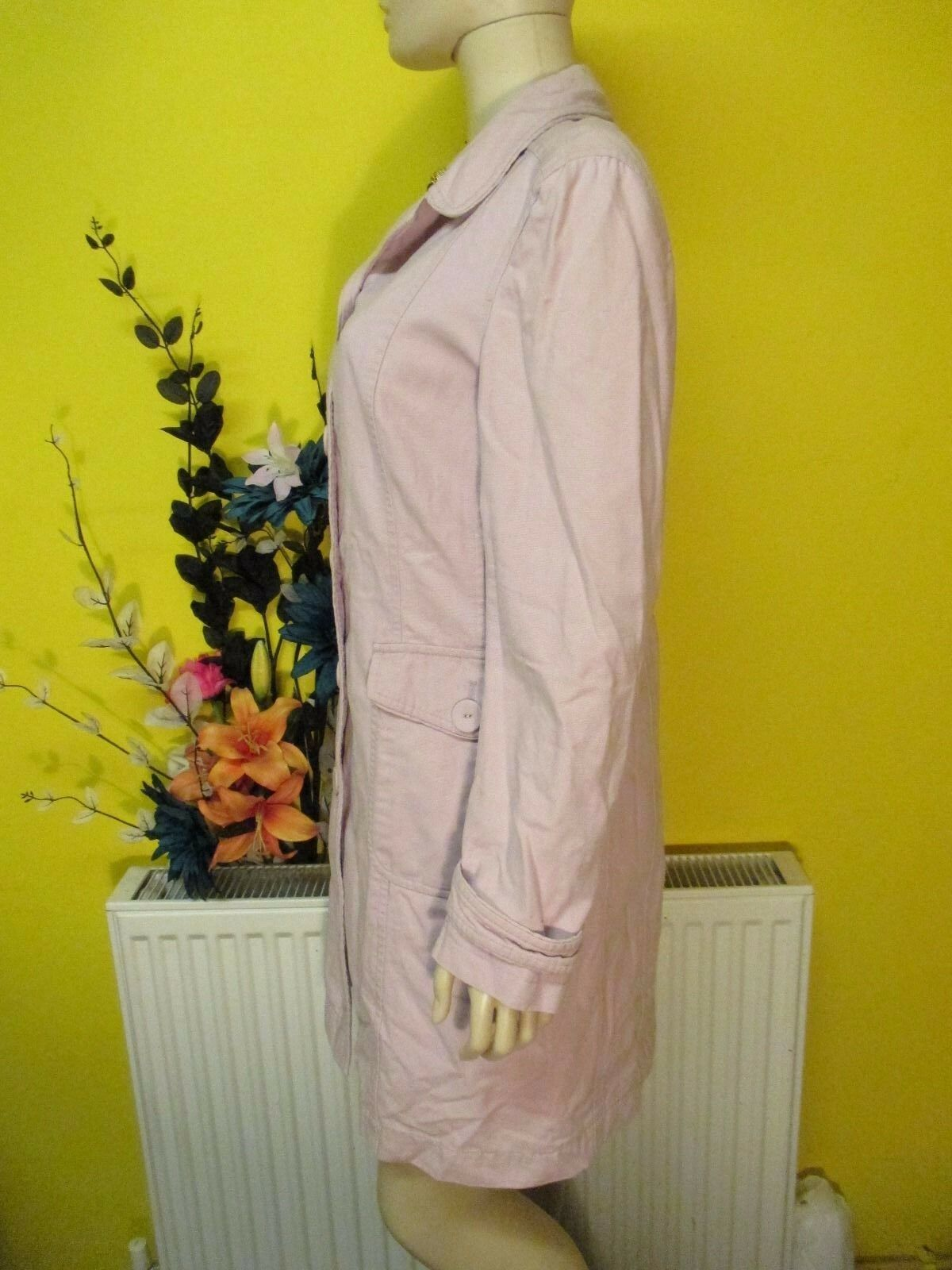 MONSOON PINK PINK PINK COAT SIZE 10 CRUISE HOLIDAYS ETC.. 4c83a2