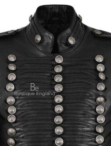 Hussar Jimi Batterista 100 pelle militare Hendrix vera Inspired Jacket Parade rrBwqd6x
