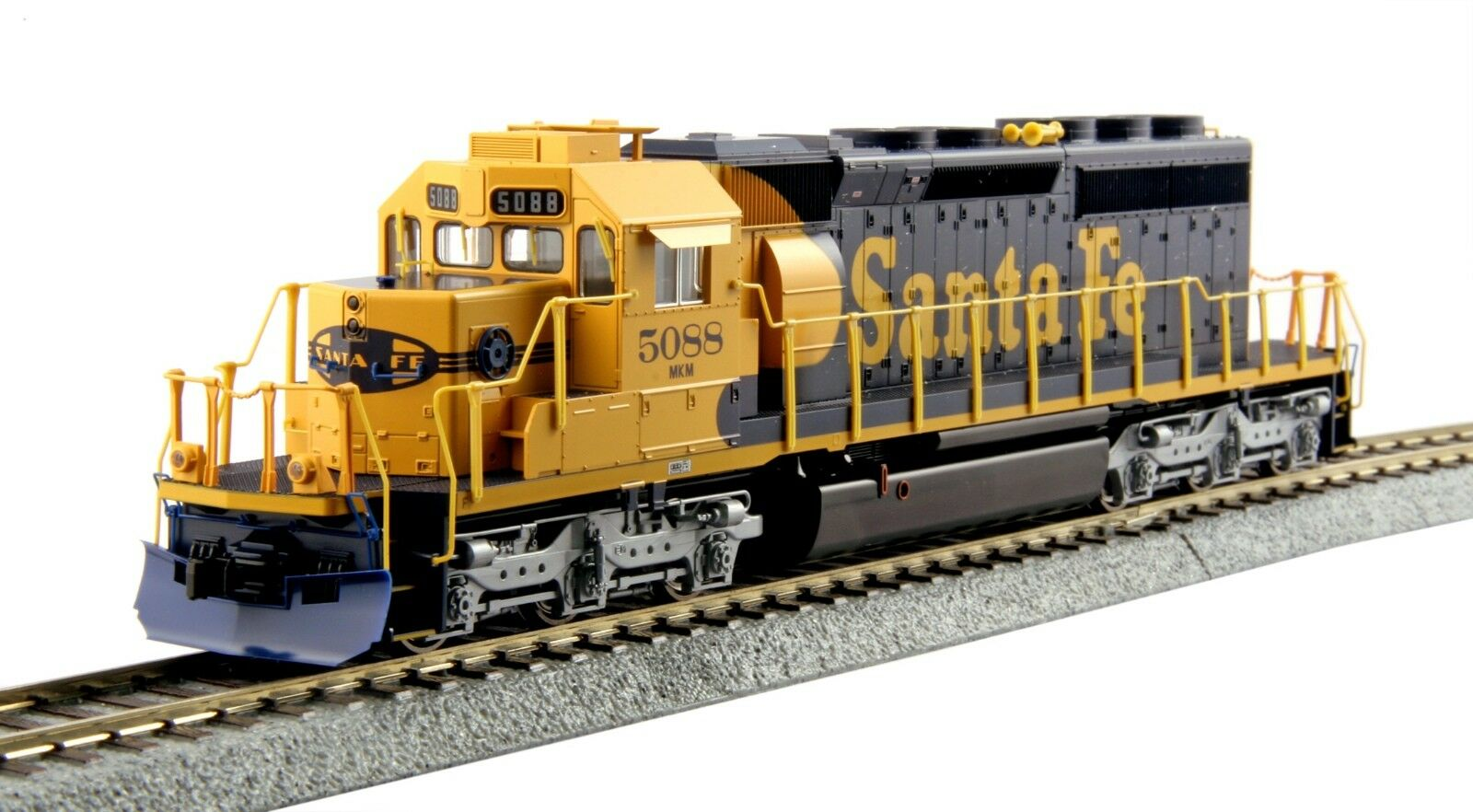 Kato 37-6617 HO Scale EMD SD40-2 Mid-Production AT&SF DC DCC Ready 376617
