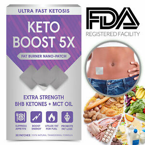 Keto Boost Ultra Fast Ketogenic Patch Go BHB Weight Loss ...