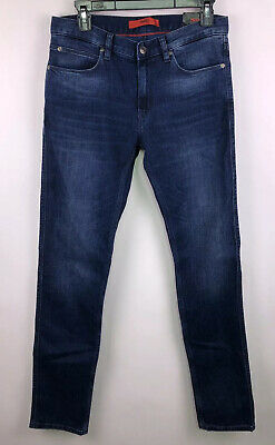 Regular Straight Fit-NWT-Free Shipping Men/'s Hugo Boss Jeans-Dark Denim