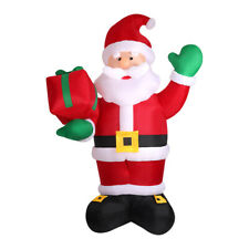 Santaco Inflatable Christmas Outdoor Decorations Santa LED Lights Xmas Party