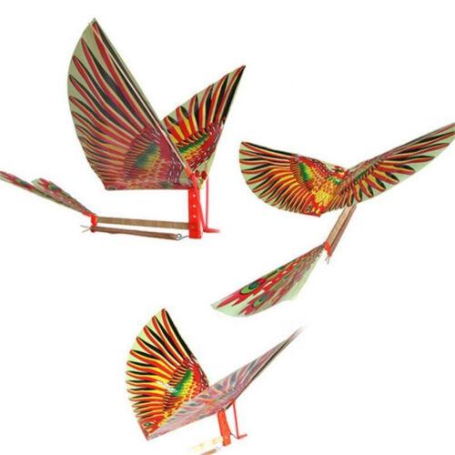 1PC élastique puissance Air avion oiseaux modèles cerfs-volants jouets d'enfants