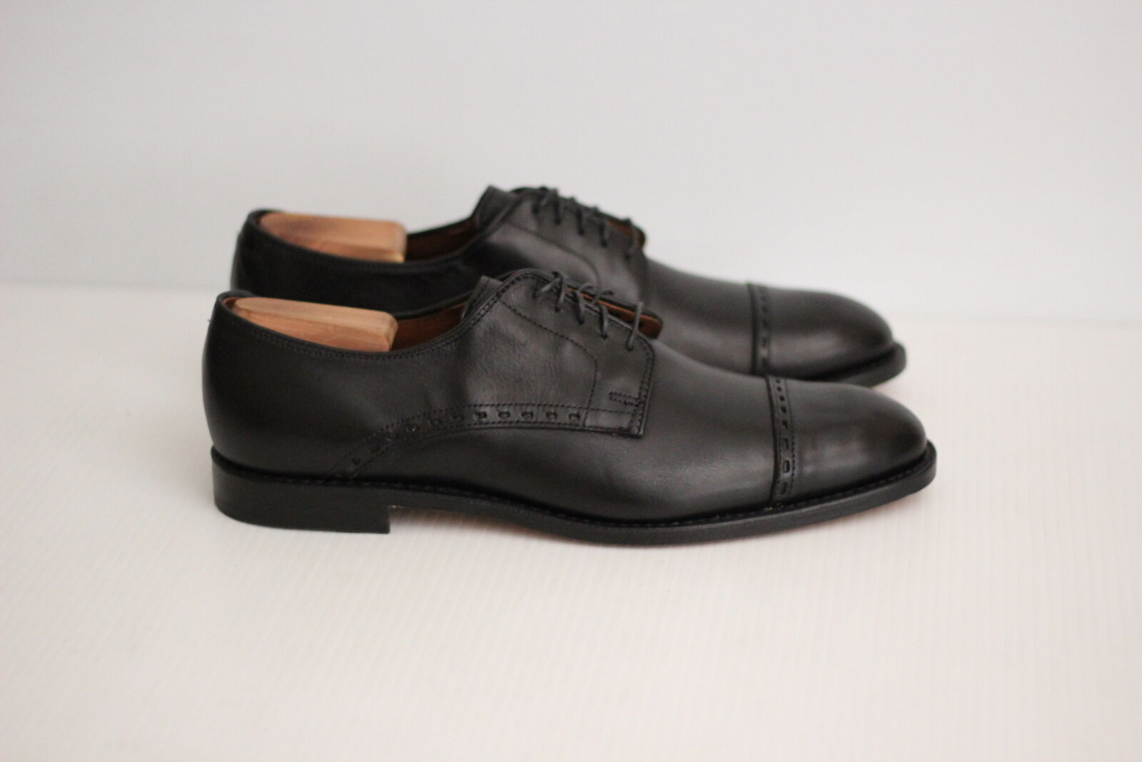 NEW Allen Edmonds 'Madison Ave' Cap Toe Derby Oxford Oxford Oxford - Black - 10.5 D  (V31) eb0cd6