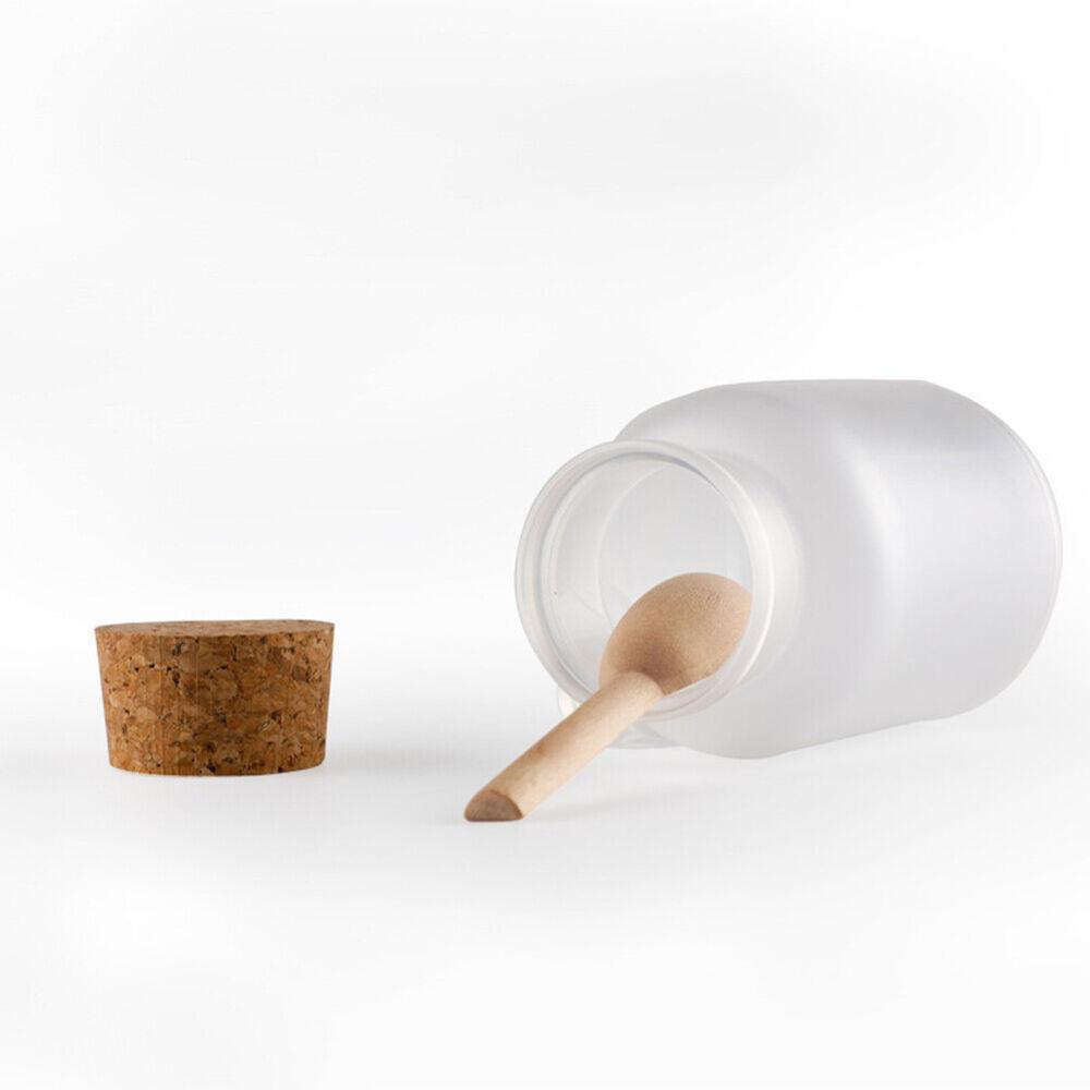 KF_ Bath Salts Bottle Powder Container Cork