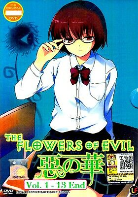 Aku no Hana / The Flowers of Evil TV 1 - 13 End DVD - English Subtitle    eBay