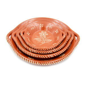 Traditional-Portuguese-Terracotta-Clay-Hand-Painted-Cooking-Pot-With-Handles