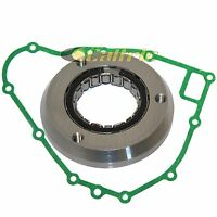 Starter Clutch One Way Bearing & Gasket Fits Kawasaki Bayou 300 Klf300 2x4 89-04