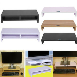 holz pc monitorerh hung bildschirm erh hung monitorst nder. Black Bedroom Furniture Sets. Home Design Ideas