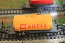 MARKLIN HO 4442 Shell tank car, wagon citerne Shell, Shell tank wagon