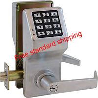 ALARM LOCK TRILOGY T2 DL2700/26D ELECTRONIC KEYLESS DOOR LOCK SATIN CHROME - NEW