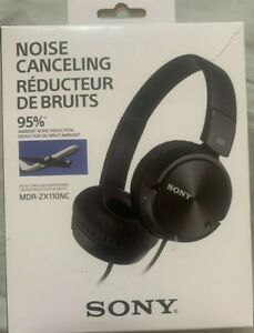 Sony-MDR-ZX110NC-Noise-Canceling-On-Ear-Wired-Headphones-Black-BRAND-NEW