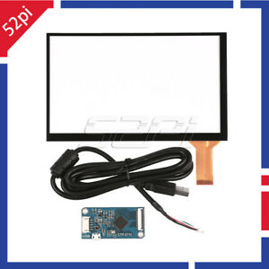 Details about 7 inch capacitive Touch Screen Digitizer Panel Glass Sensor  Kit + Driver Board