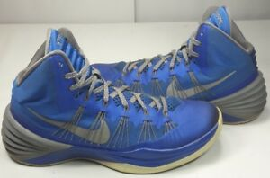 e14b4d17add Nike Men s Hyperdunk 2013 High Top Basketball Shoes Blue 599537 Size ...