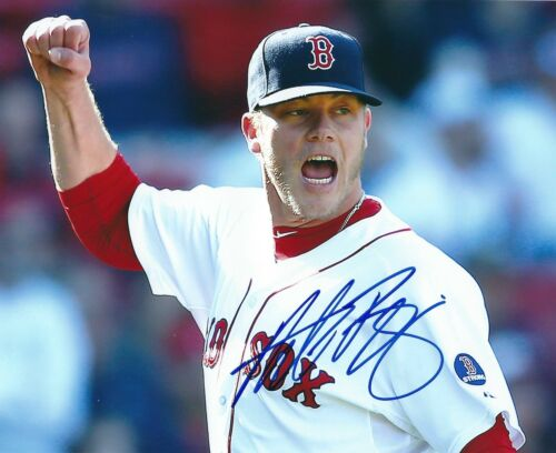 Signed 8x10 ANDREW BAILEY Boston Red Sox Autographed photo - COA