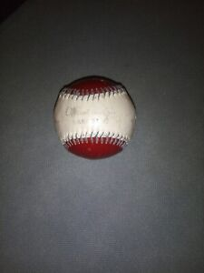 Handmade Vintage Red Leather Official League Baseball Rare Old Collectable MLB