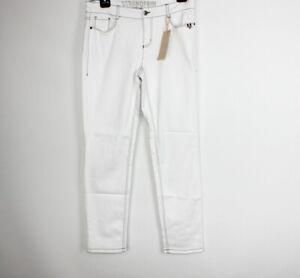 Strandfein Jeans Hose Sina 5 Pocket Vintage Gr.42 **NEU**Weiß Power Stretch