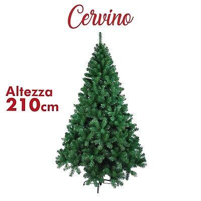 Albero di natale 150 180 210 240 cm folto realistico dicembre artificiale verde