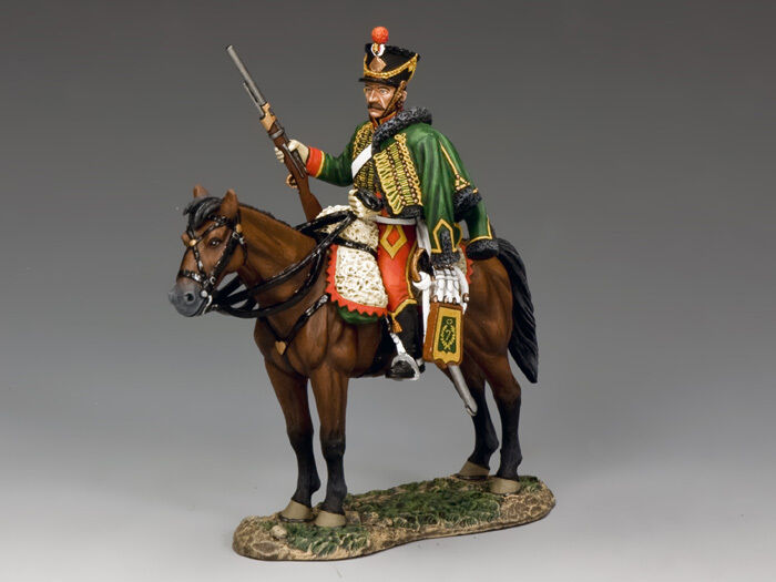 NA302 Mtd. Hussar with Carbine by King & Country
