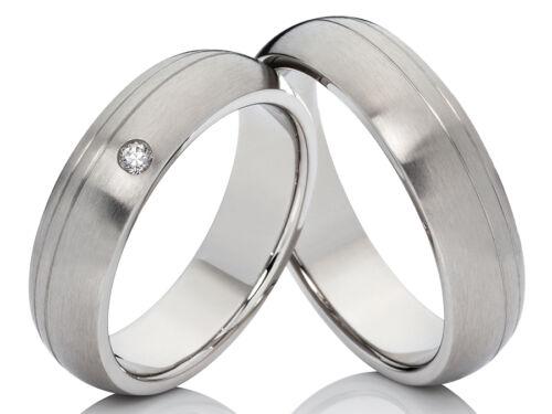 alianzas de amistad alianzas compromiso anillo de acero inoxidable m circonita /& grabado 2