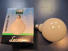 **RARITÄT** ORIGINAL LEUCI GLOBE G95 E27 100W 230V opal weiß Globelampe