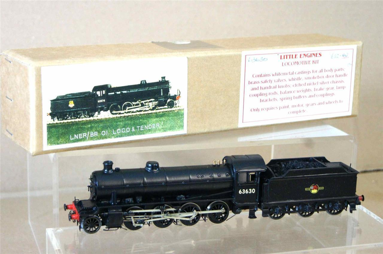 LITTLE ENGINES KIT BUILT BR LNER 2-8-0 CLASS O1 LOCO 63630 PORTESCAP MOTOR py