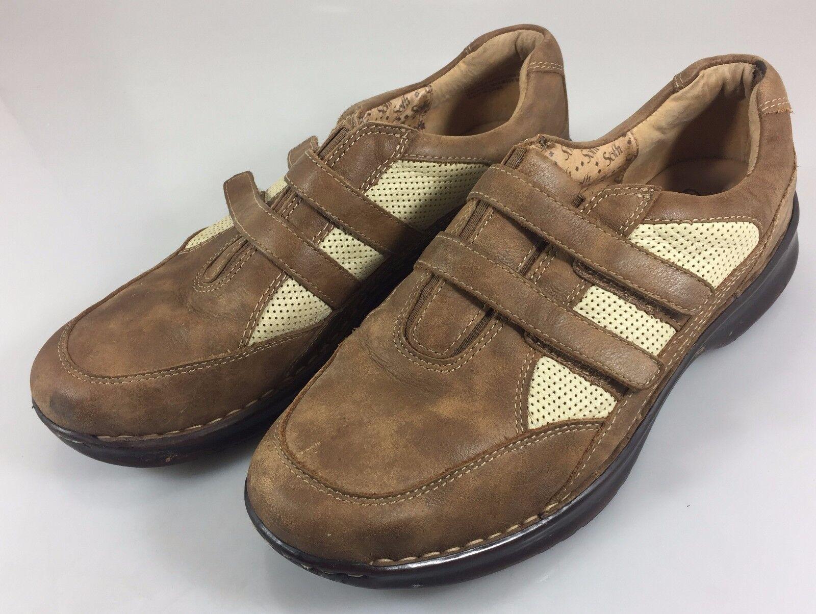 Sofft Zapatos para Caminar Cuero Marrón Marrón Marrón para Mujer 8 M & Malla de bronceado  precio al por mayor