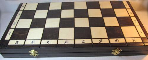 Schach Sehr schönes Schachspiel SPARTAN 49 x 49 cm KH 100 mm