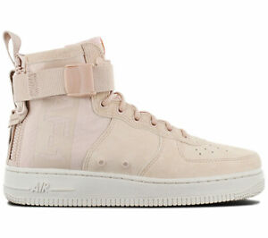 Details about Nike Air Force 1 mid Sf AF1 Women's Sneaker AA3966-201 Beige  Shoes Sneakers New