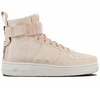 Nike Air Force 1 mid Sf AF1 Women's Sneaker AA3966-201 Beige Shoes Sneakers  New | eBay