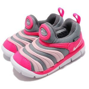 Nike-Dynamo-Free-TD-Grey-Pink-White-Toddler-Infant-Baby-Shoes-Sneaker-343938-019