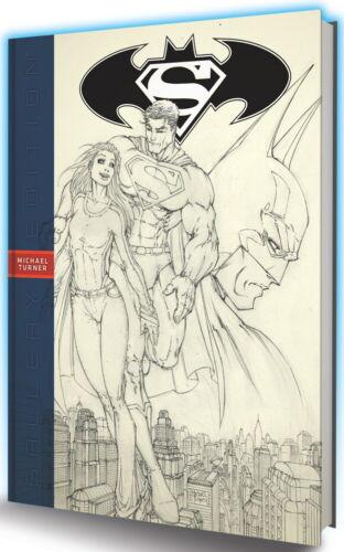 SUPERMAN BATMAN MICHAEL TURNER GALLERY ED HC DC COMICS
