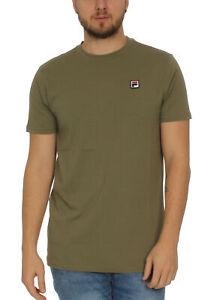 Fila-T-Shirt-Uomo-Seamus-Te-Ss-682393-Cachi-30-Profondo-Lichene-Verde