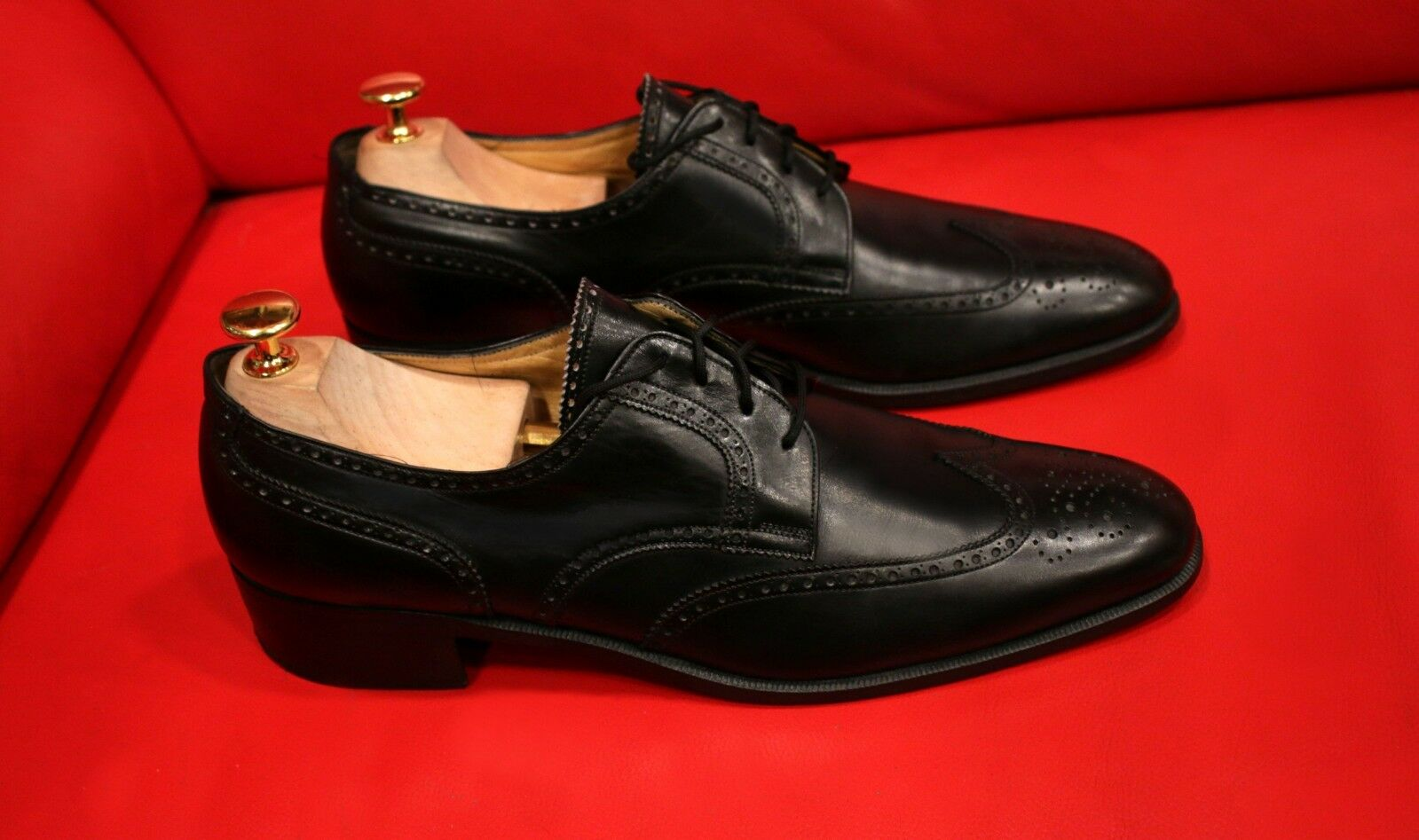 639.00 FERRAGAMO DONNE LUXURY nero EXCLUSIVE  OXFORD SHOHE Dimensione 9.5 B  connotazione di lusso low-key