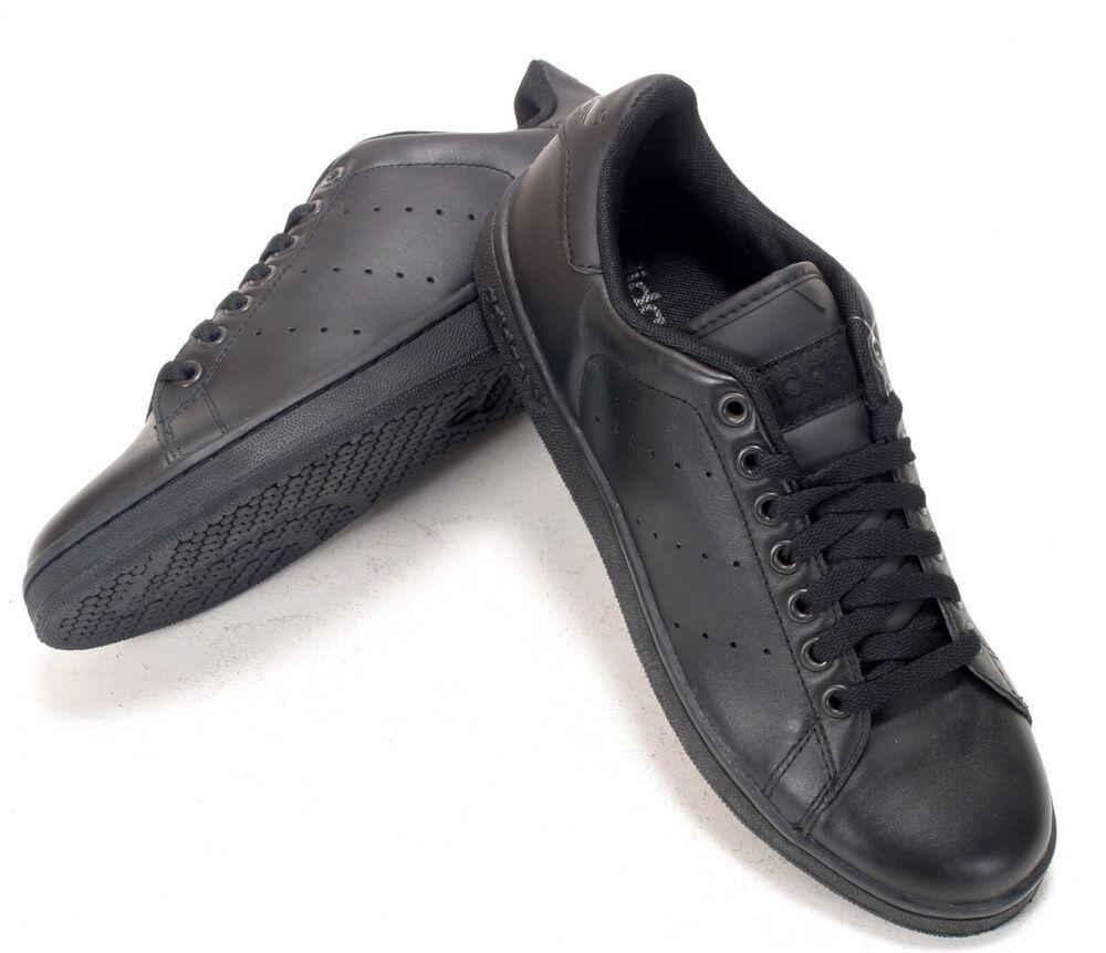 100% De Qualité Adidas Originals Stan Smith 2 Cuir Noir Homme Différentes Tailles G17076 Entièrement Neuf Dans Sa Boîte Divers ModèLes RéCents