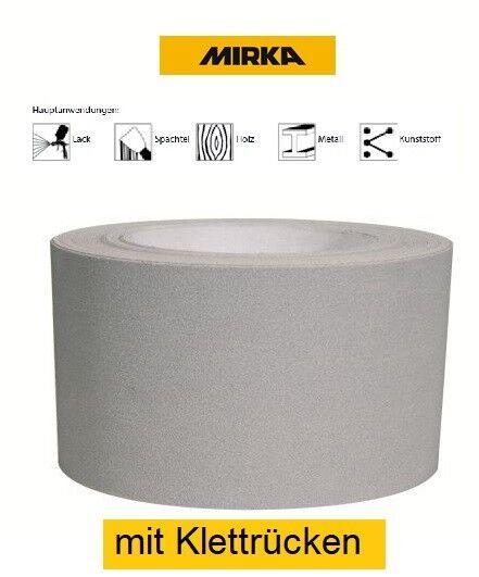 Mirka Q.Silver Schleifrolle 115 mm x 25 m mit Klettrücken Körnung wählbar