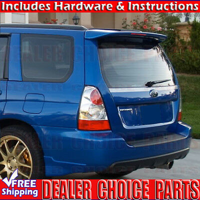 2004 2005 2006 2007 2008 Subaru Forester Factory Style ROOF Spoiler Wing PRIMER
