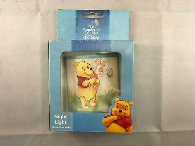You Pick 6 Designs Disney Winnie The Pooh Piglet Eeyore Night Light Tigger
