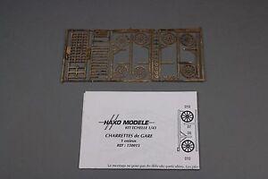 X668 Haxo Modeles Hm Maquette 1/43 Charettes De Gare 1 Essieux Ref 150015 Metal